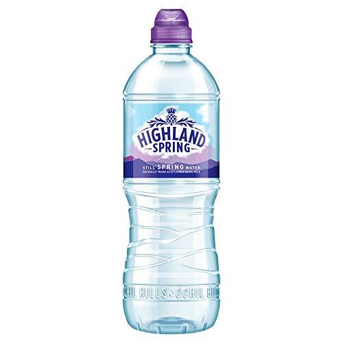 15 x 750ml Highland Natuurlijke Still Lente Water Sport Cap Drink Gezond Hydrat