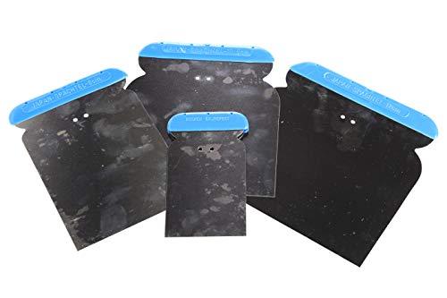 Bonum Japon Spatule Set de 4 Pièces inoxydable, 50,80,105,120 mm, 5172809