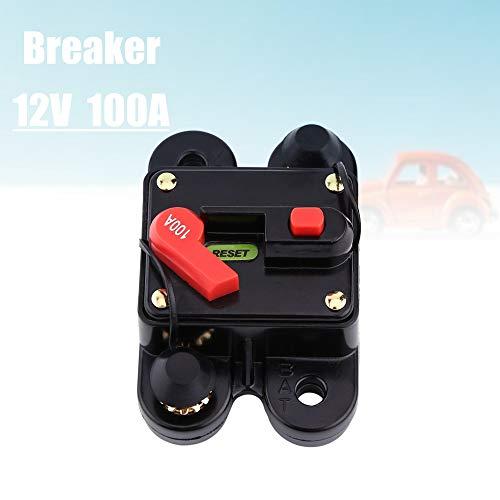 12V ~ 24V 80~300A automatische zekeringsschakelaar, Breaker Reset zekering voor het schakelen van autoradio's of grote elektrische apparaten (100A)