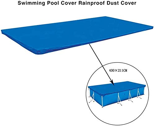 Couverture de piscine rectangulaire, plateau de protection pour piscine rectangulaire, couverture de piscine rectangulaire réactive; Couverture de piscine résistante à la poussière Bulle Ble