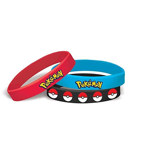 Pokemon Stretchy Bracelets [6 per Pack]