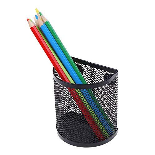 Volwco Magnetische Aufbewahrungskörbe, halbrund, Eisennetz, stark, magnetisch, Stifthalter für Schreibtafel, Kühlschrank, Schließfach Semicircle