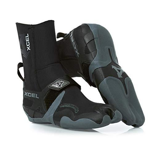 XCEL Infiniti Split Toe Boot 5mm Black