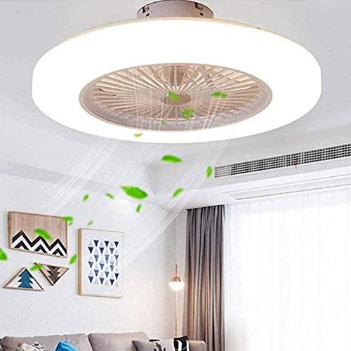 Ventiladores De Techo Con Luces, Led De 36 W, Ventilador, Lámpara De Techo, Ventilador, Lámpara De Luz, Ventilador, I Con Control Remoto Azul Claro