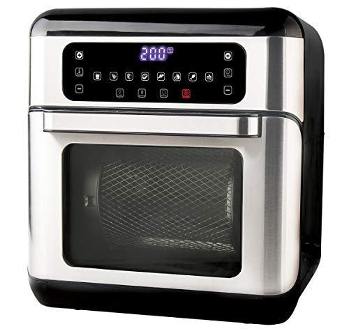 Havells Air Oven Digi 1500 watt Combination of Oven Toaster Griller, Air Fryer & Dehydrator (Black)