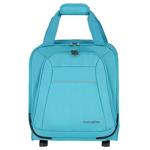 Travelite Cabin 2-Rollen-Kabinentrolley 43 cm turquoise