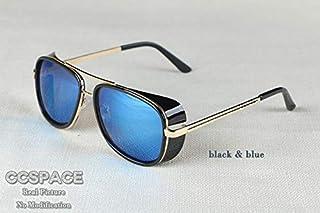 eed61749d6 NSYJDSP Gafas de Sol Masculinas Tony Stark Iron Man Matsuda Gafas de Sol  Retro Vintage Gafas
