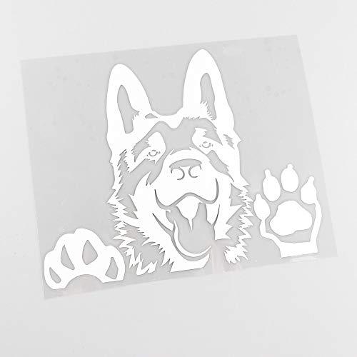 German Shepherd Dog Paw Pet Animal Wall Sticker Vinyl Wall Art Decal Car Sticker Boy Kids Bedroom Club Office Home Decor Mural