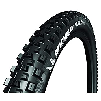Michelin Wild AM Competition Line Front or Rear Mountain Bike Tire for Mixed and Soft Terrain GUM-X3D Compound 27.5 x 2.80 inch