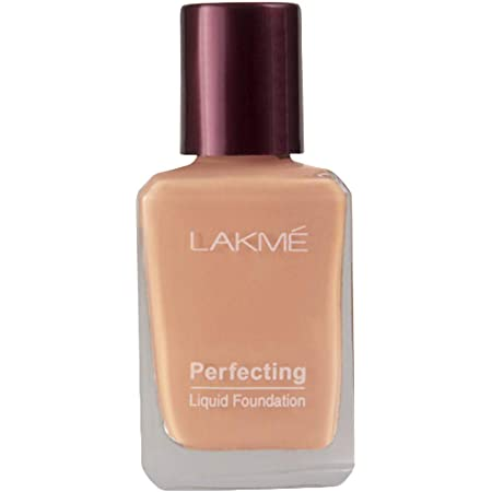 Lakmé Perfecting Liquid Foundation, Marble, Long Lasting, Waterproof, Full Coverage, Lightweight Foundation For Oil Free And Dewy Skin, 27 ml