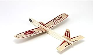 Guillow Balsa Airplane Starfire Glider Plane Toy - Party Favor Lot of 6