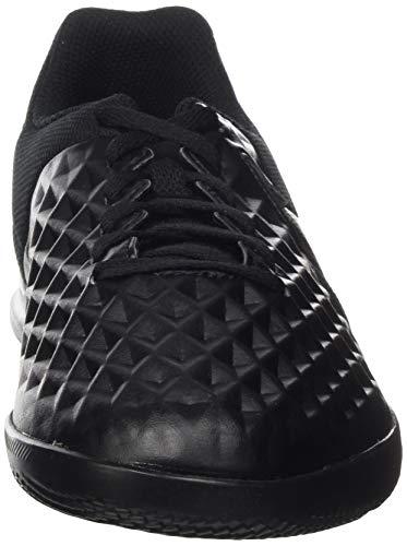 Nike At5882-010_35,5, Entrenadores de fútbol Sala Unisex Niños, Negro, 35.5 EU