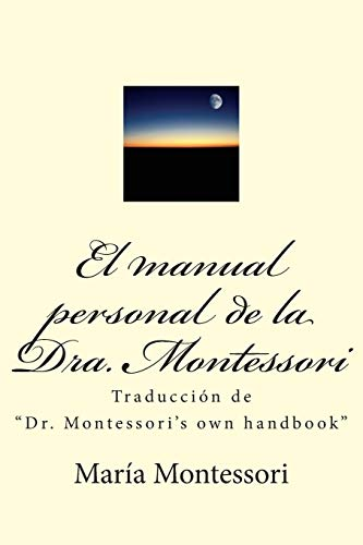 El manual personal de la doctora Montessori