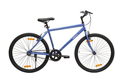 Mach City I Bike 2018 26T Single Speed Adult Cycle(Matt Berry Blue)