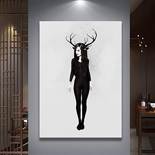Geiqianjiumai Modern Sweetest Canvas Art Poster und Drucke Home Decoration Wohnzimmer Graphic Image...