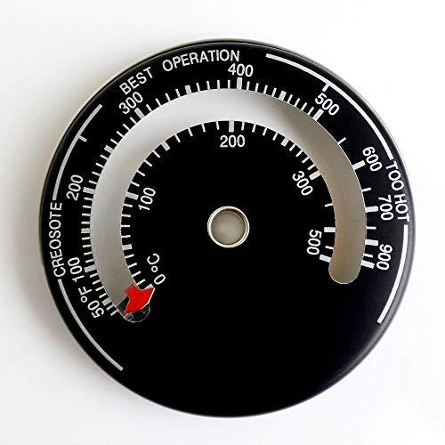 ストーブ 温度計 マグネット式 シンプル 薪ストーブ ピザ釜 バーベキュー グリル