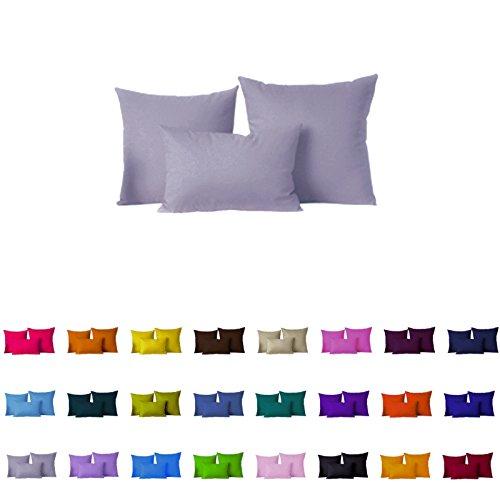 "Decorative Pillows Cover/Cushion Case (26""x26"", Dark Gray)"