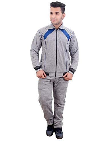 Fashion Sutra Boy's Light Grey Cotton Warm Tracksuit
