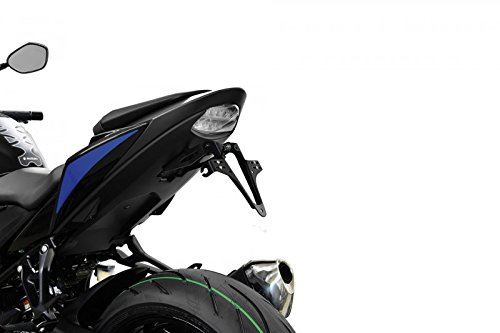 Highsider Motorrad-Kennzeichenhalter Kennzeichenhalter 280-822 für Suzuki GSX-S 750