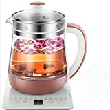 GAOJIN ELECTRIC WATER KETTLE GLASS KETTLE,MULTI-FUNCTION TEA MAKER,HEALTH POT GLASS THICKENING SPLIT HEALTH