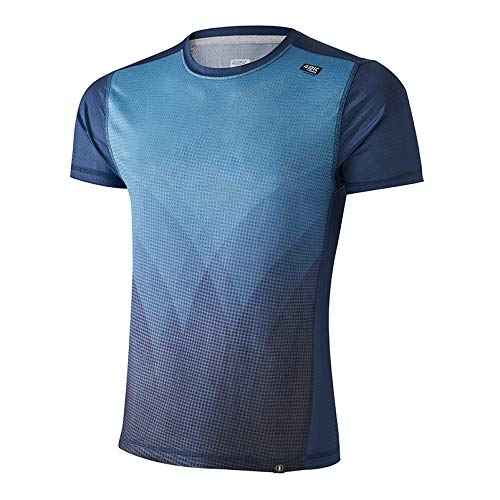 42K Running Elements T-shirt technique 100 % recyclé L Water