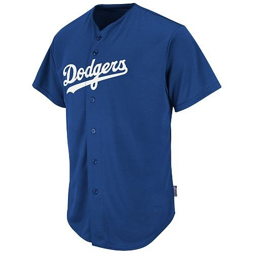 Majestic Authentic Sports Shop Los Angeles Dodgers Full-Button CUSTOM or  BLANK BACK Major League 452b55b5efb