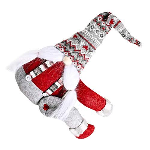 NUOBESTY - Abrazadera de sujeción para cortina de Navidad (estilo 2)