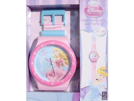 Jemini Montre geante Disney Princesses - Horloge Murale - ameublement et Decoration de Chambre Enfant