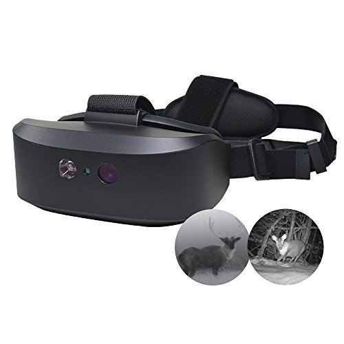 WANNEY Tracker Night Vision Goggle Binoculars Water-Resistant Optics Near-Infrared Illuminator