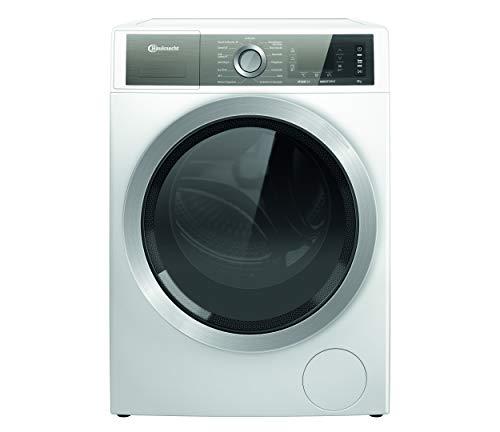 Bauknecht B6 W845WB DE Waschmaschine Frontlader, B, 8kg, kraftvolle Fleckenentfernung, Steam Hygiene Option, Direct Drive-Motor, Startzeitvorwahl, Kindersicherung