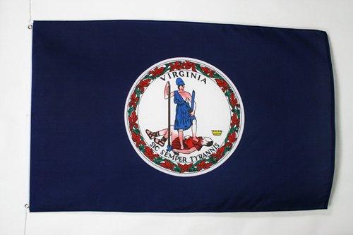 AZ FLAG Drapeau Virginie 150x90cm - Drapeau Etat américain - USA - Etats-Unis 90 x 150 cm - Drapeaux
