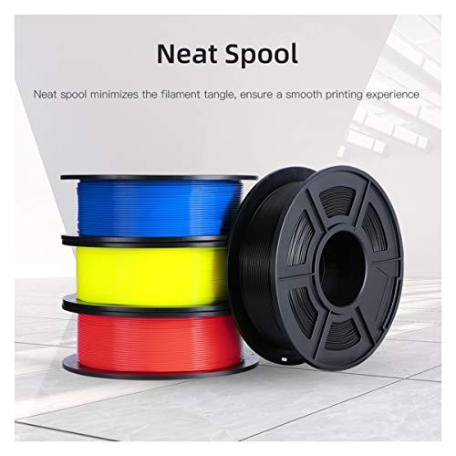Hello 4 kg Impression de filaments 3D, 1.75mm Filament PLA, Bleu, Jaune, Rouge, Noir, utilisé for l'imprimante 3D et Un Stylo 3D