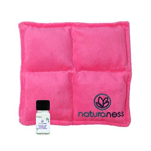 Naturaness Compresita para eliminar cólico de bebé recién nacido - azul o rosa. Etapa lactancia