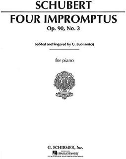Impromptu, Op. 90, No. 3 in G Major
