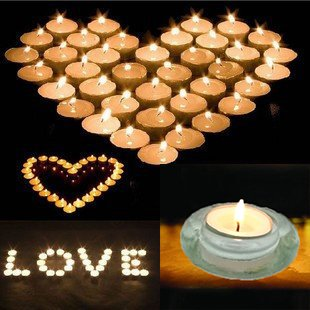 Adoria Tea Light Candles Set of 200 Bulk-White Unscent Candles Burning 4 Hours,for All Tea Light Holder -Home Decro,Wedding,Parties