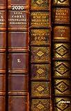 Magneto Diary Big Antique Books - Kalenderbuch A5 mit Magnetverschluß - Kalender 2020 - teNeues-Verlag - Taschenplaner mit Lesebändchen und Zetteltasche - 16 cm x 22 cm