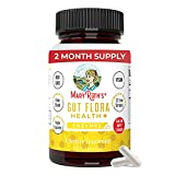 Gut Flora Health+ Enzymes by MaryRuth's | Vegan Prebiotic Probiotic Digestive Enzyme Blend for Healthy Gut Biome & Digestive Support | Immune Function & Gastrointestinal Health | 2 Month Supply