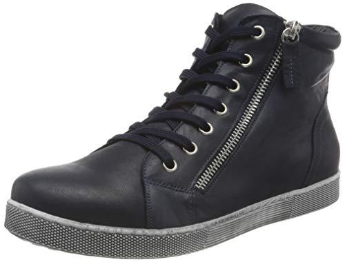 Andrea Conti Damen 0340016 Sneaker, d.blau, 38 EU