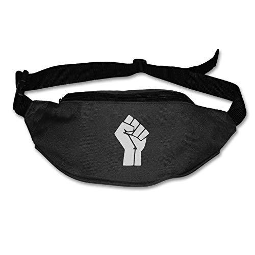 Tvox8x Black Lives Matter - Cinturón resistente al agua para correr y hacer senderismo