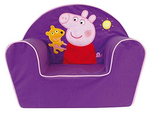 Fun House-712466, Motivo: Peppa Pig-Poltrona Club in Schiuma, da Bambino