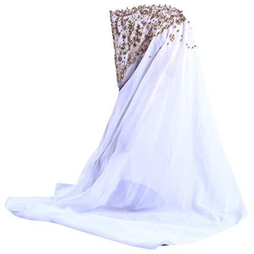Lazzboy Plain Chiffon Muslim Hijab Schal Halstuch Damen Kopftuch Gesichtsschleier Glitzernder Turban Hidschab Diamanten Islamischen Abaya Dubai Frauen Ramadan Kopfbedeckung Bandana(F)