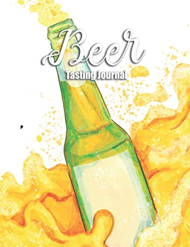 Beer Tasting Journal: Craft Beer Review Logbook Large Notebook - Record Your Favorite Brews For Beer festival, Homebrewing, Father's day