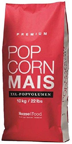 Premium Popcorn Kinopopcorn 10 Kg ( 20 x 500 Gramm ) XXL 1:46 Popvolumen Top Angebot