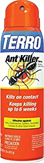 Terro Ant Killer Aerosol Spray (T401-6), 16 oz, Brown/A