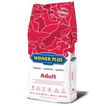 WINNER PLUS Adult 3 kg - Alimento monoproteico con carne di pollo per cani adulti di tutte le razze