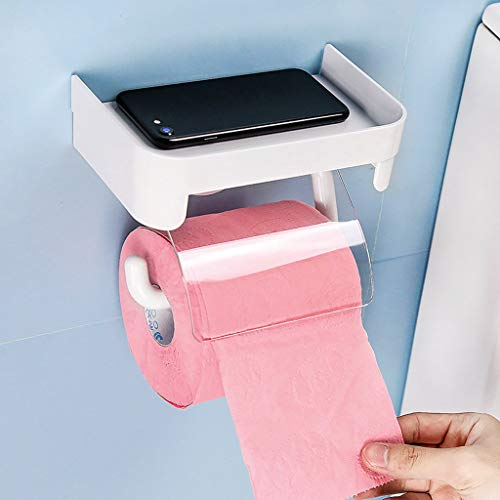 XIN toiletpapierrek creatief toiletpapier handdoekenrek Multi - functie - gratis nagellaken doos toiletpapier frame mobiele telefoon platform