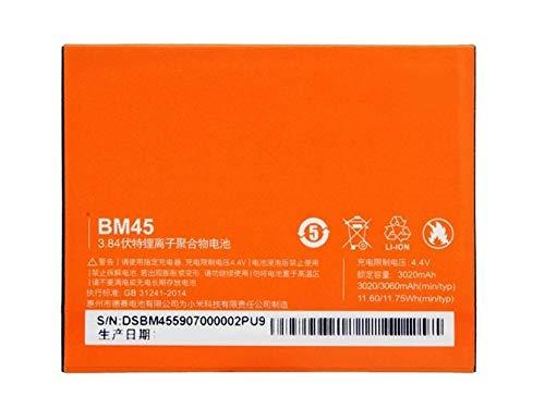 Bateria Compatible con BM45 para Xiaomi Redmi Note 2 / Redmi Note 2 Pro/Redmi Note 2 Prime