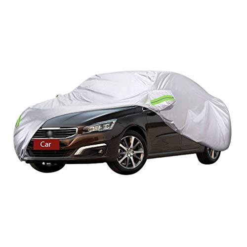 Couverture de voiture Compatible avec Peugeot 508 Couverture de la voiture Écran solaire antipluie Protection contre la poussière anti-poussière isolation épaississement Four Seasons Universal Couvert