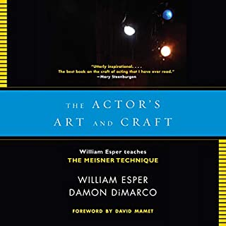 The Actor's Art and Craft audiobook cover art
