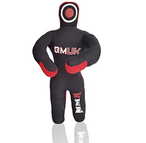 QMUK Kid's MMA Dummy Grappling Punching Bag Jiu Jitsu Judo Standing Style...
